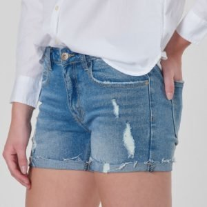 Grunt Relax Lt. Vintage Shorts Shortsit Sininen