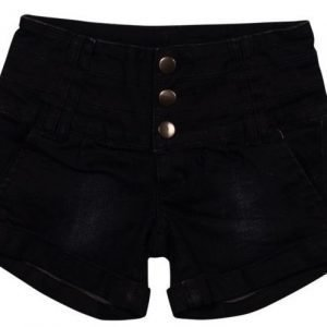 Grunt Shortsit Hot Black Denim