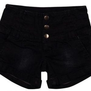 Grunt Shortsit Hot Black Denim