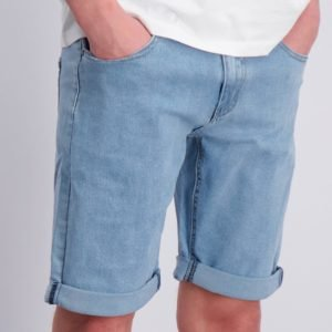 Grunt Stay Washed Blue Shorts Shortsit Sininen