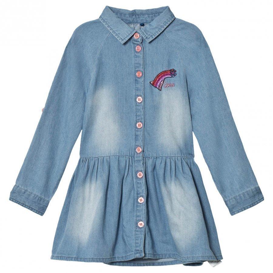 Guess Denim Shirt Dress Mekko