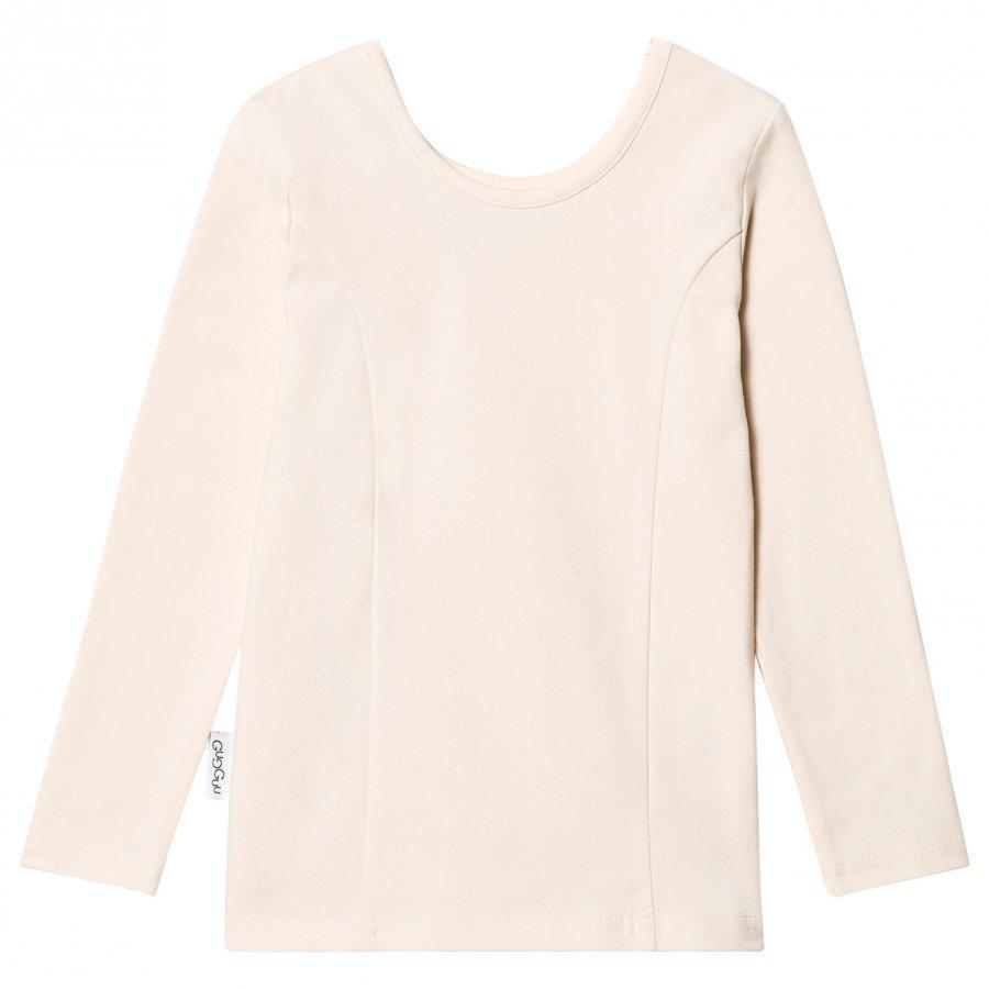 Gugguu Ballerina Shirt Vanilla Kauluspaita