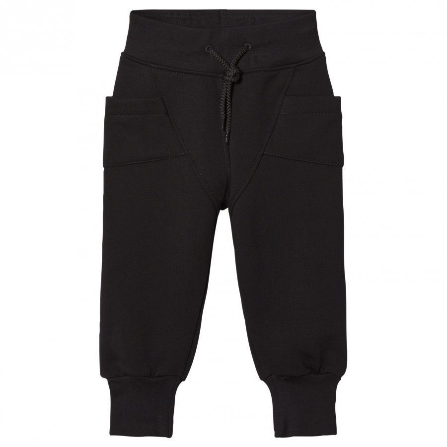 Gugguu College Baggy Pants Black Verryttelyhousut