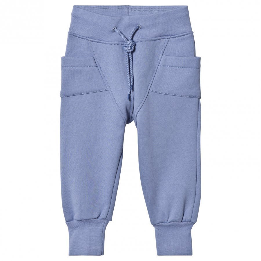 Gugguu College Baggy Pants Ice Blue Verryttelyhousut