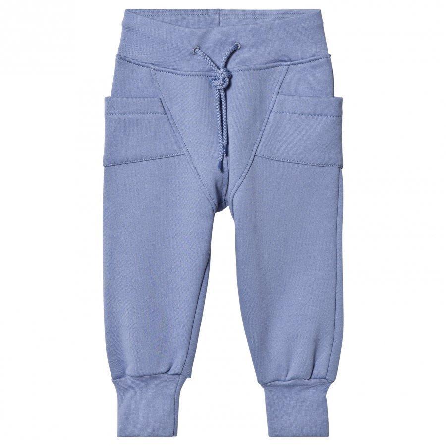 Gugguu College Baggy Pants Ice Blue Verryttelyhousut