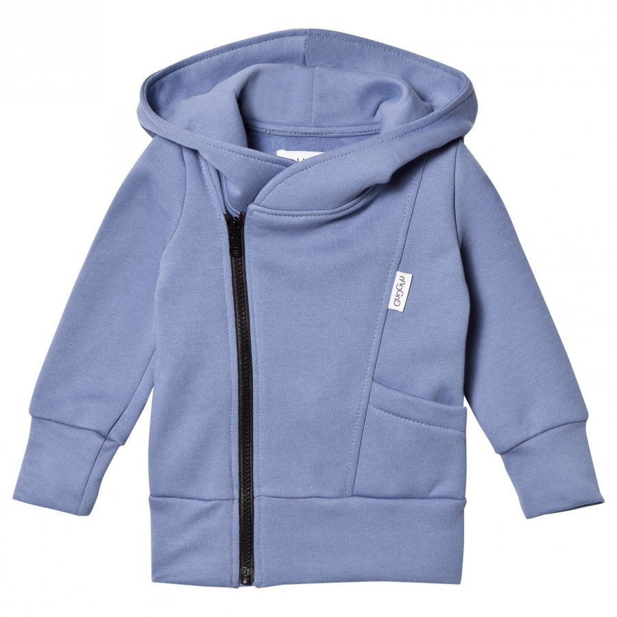Gugguu College Hoodie Ice Blue/Black Huppari