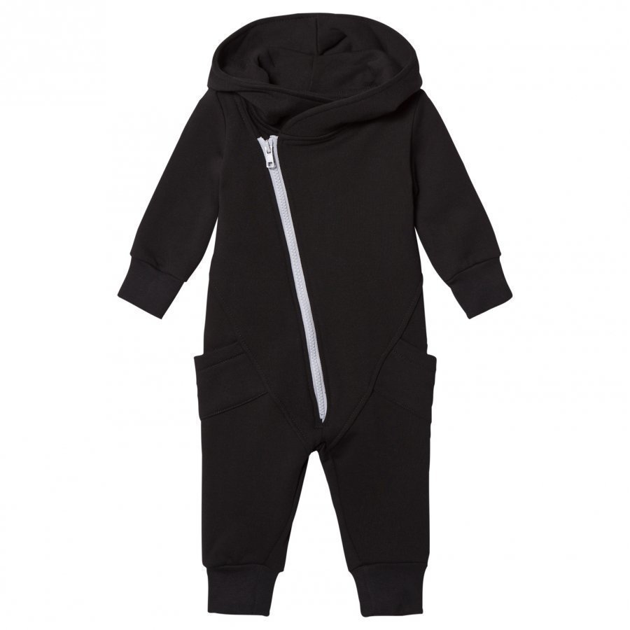 Gugguu College Jumpsuit Black/Dabble Grey Potkupuku
