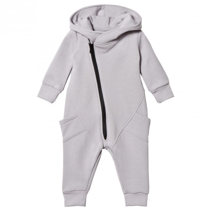 Gugguu College Jumpsuit Dabble Grey/Black Potkupuku