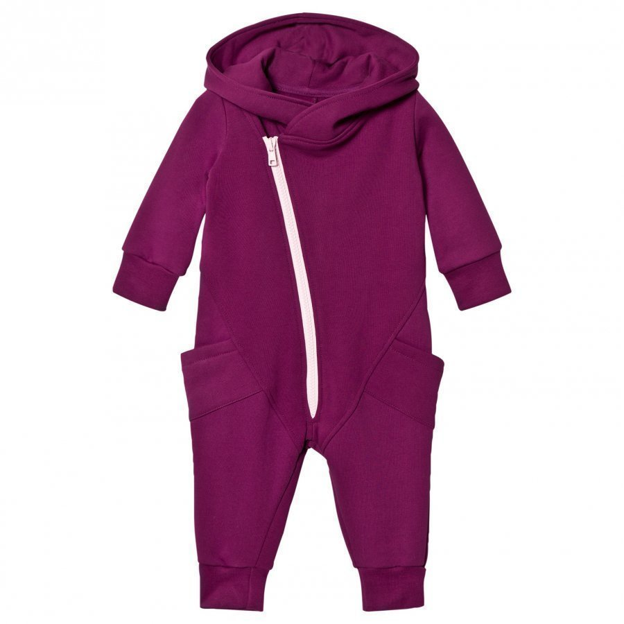 Gugguu College Onesie Grape Juice/Fragrant Lilac Potkupuku