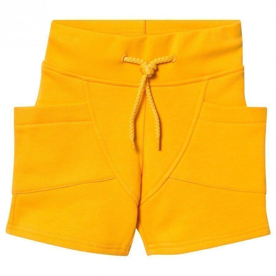 Gugguu College Shorts Sunny Yellow Oloasun Shortsit