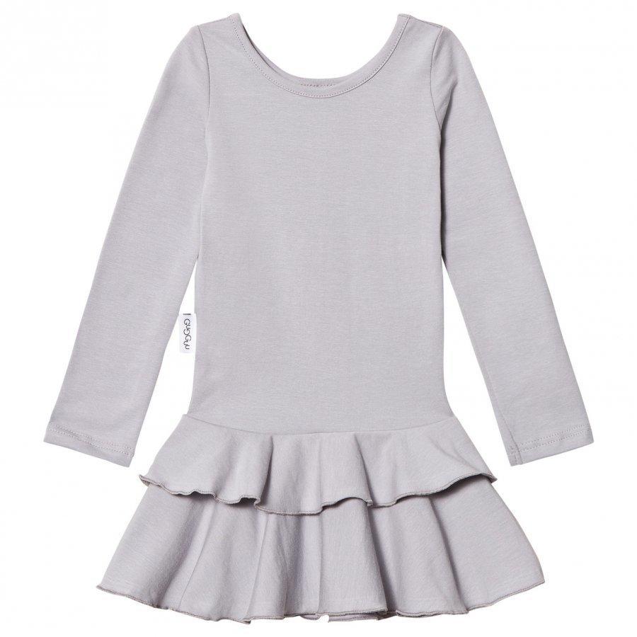 Gugguu Frilla Dress Dabble Grey Mekko