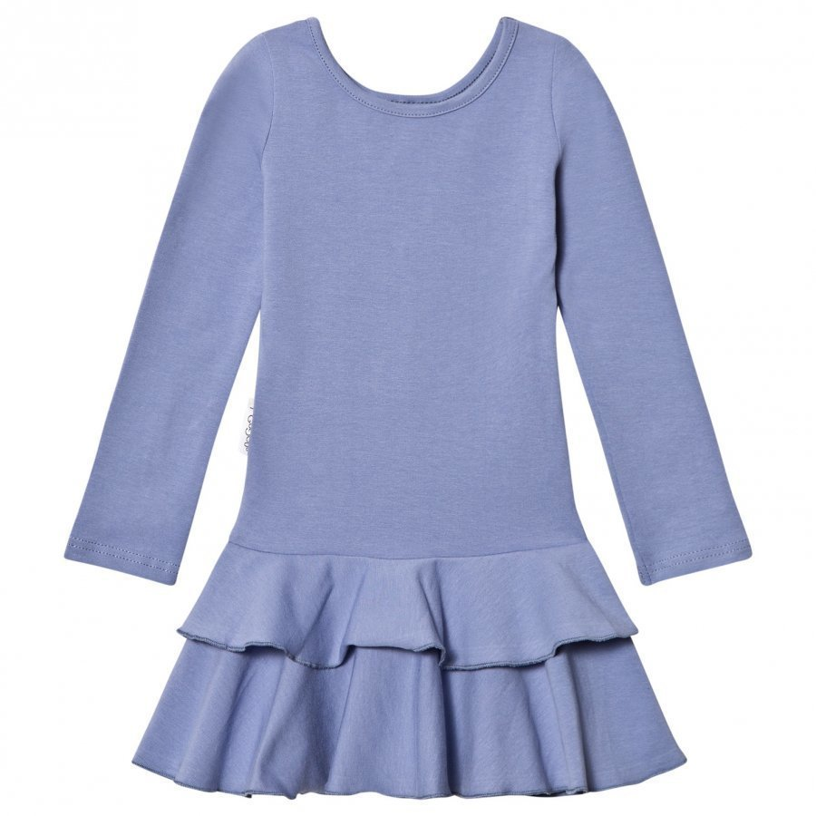 Gugguu Frilla Dress Ice Blue Mekko