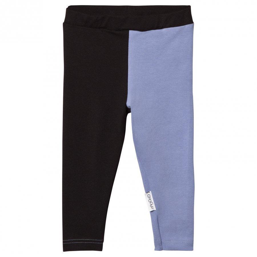 Gugguu Leggings Black/Ice Blue Legginsit