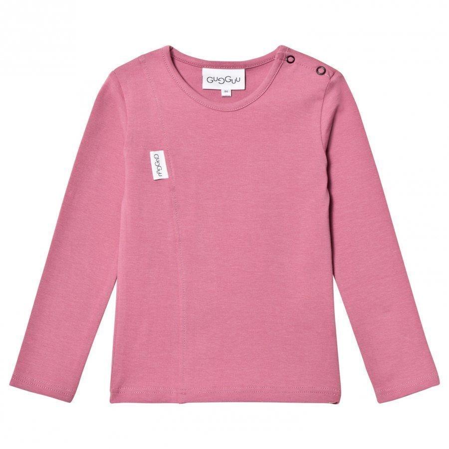 Gugguu Unisex Tricot Shirt Heather Rose Pitkähihainen T-Paita