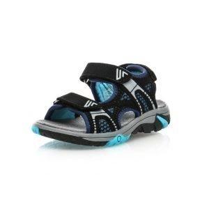 Gulliver Open Sandal Sandaalit Musta / Sininen