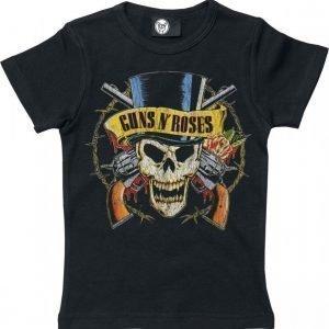 Guns N' Roses Pistol Skull Lasten Paita