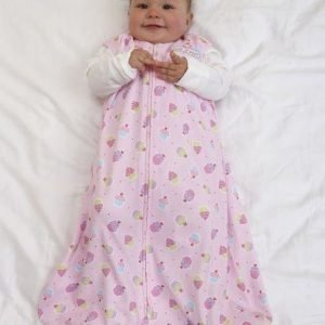 HALO® SleepSack® Puuvilla Pink Cupcake (Large)