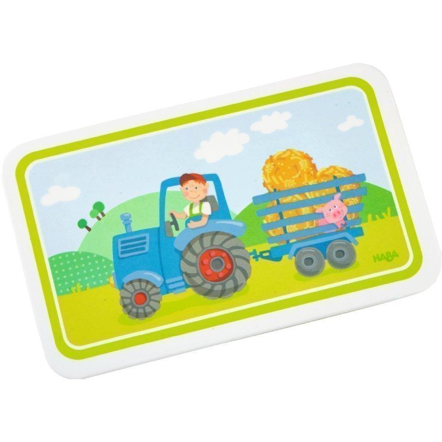 Haba Melamiinileipälauta Traktori 302816