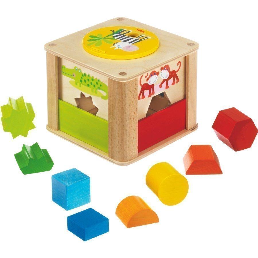 Haba Palikkalaatikko Eläintarhan Eläimet