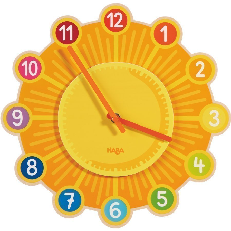 Haba Seinäkello Aurinko 302308