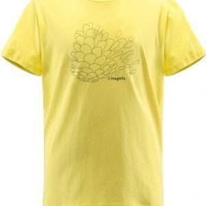 Haglöfs Camp Tee Junior T-Paita Keltainen