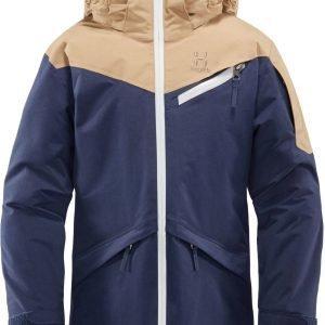 Haglöfs Niva Insulated Jacket Junior Talvitakki Tummansininen