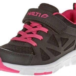 Halti Rello Jr Trekking Shoe Kesäkengät Musta / Pinkki
