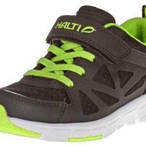 Halti Rello Jr Trekking Shoe Kesäkengät Musta / Vihreä