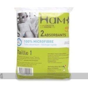 Hamac Paris Kestokäyttövaipan Sisus 4-8 Kg Vauvalle 2 Kpl