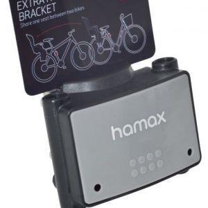 Hamax Lukollinen kiinnike pyöränistuimeen Musta/harmaa