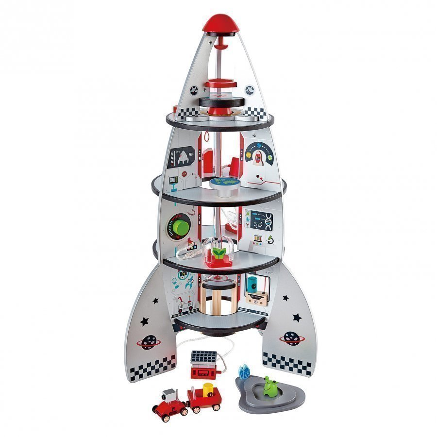 Hape Four-Stage Rocket Ship Leikkipuku
