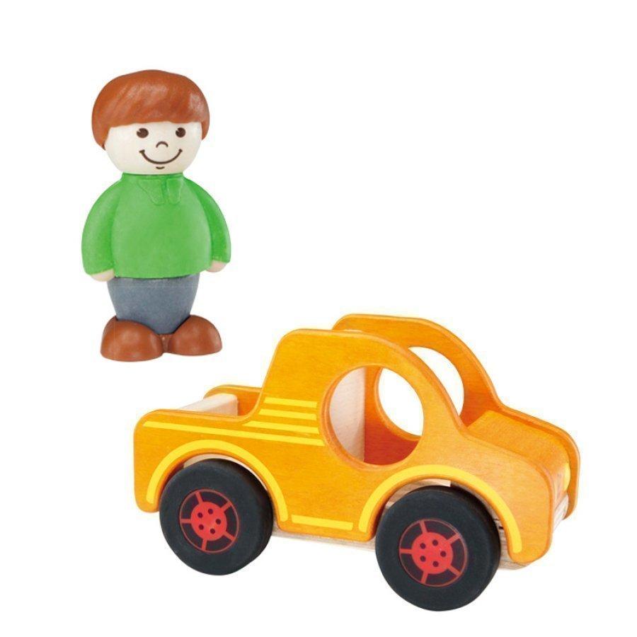 Hape Keltainen Auto