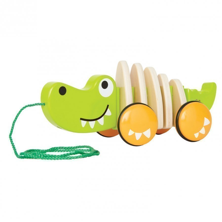 Hape Walk-A-Long Crocodile Vetolelu