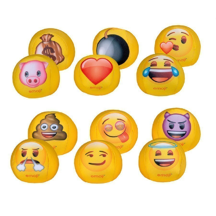 Happy People Pallo Emoji 10 Cm