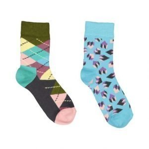 Happy Socks Argyle Sukat 2 Pack