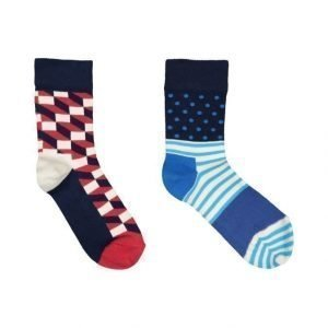 Happy Socks Filled Optic Sukat 2 Pack