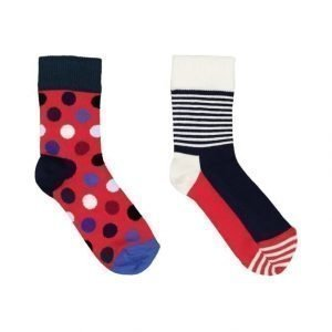 Happy Socks U Big Dot Sukat 2 Pack