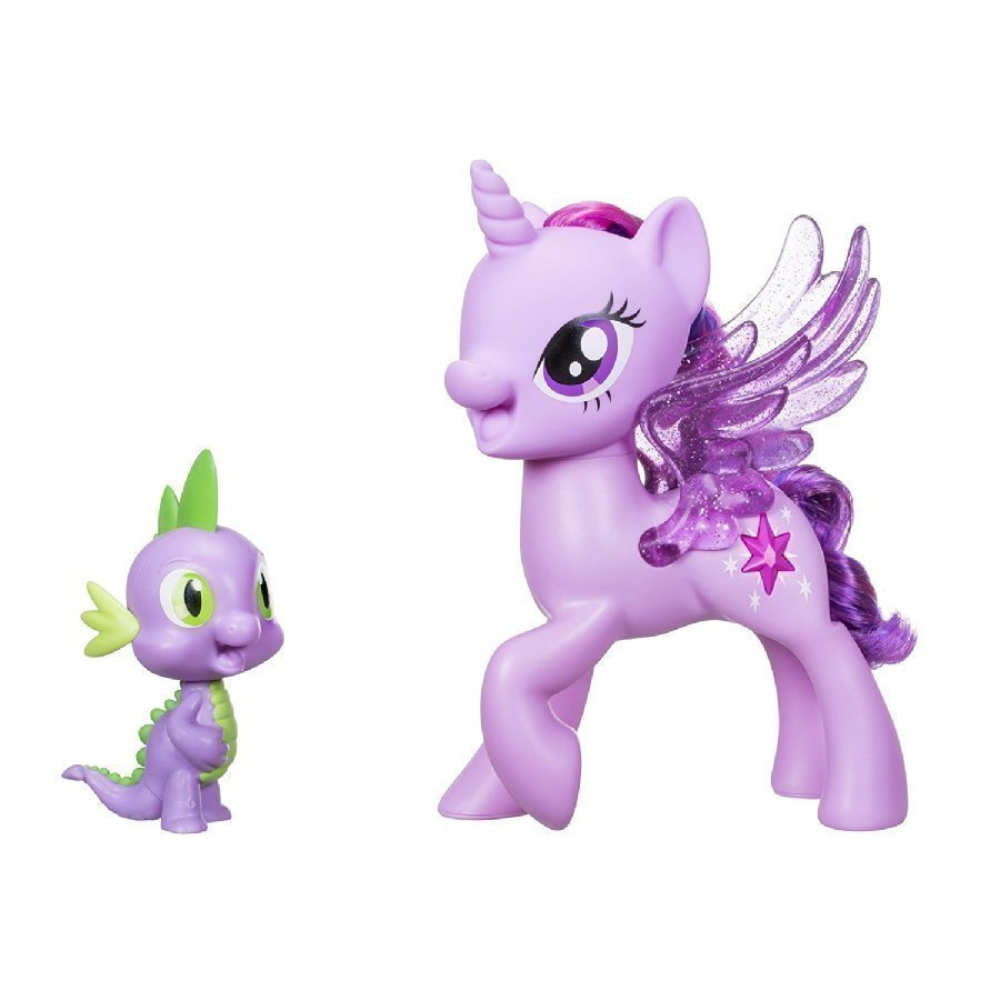 Hasbro My Little Pony Prinsessa Twilight Sparkle & Spike Laulava Duo