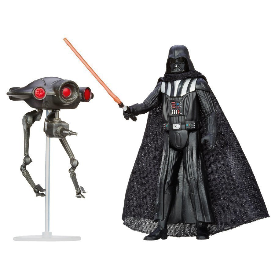 Hasbro Star Wars Mission Series Darth Vader Ja Tiedustelijadroidi