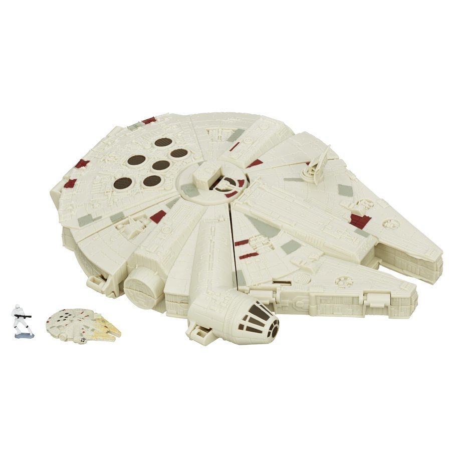 Hasbro Star Wars The Force Awakens Micromachines Millennium Falcon