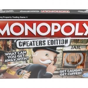 Hasbrogames Monopoly Cheaters Edition