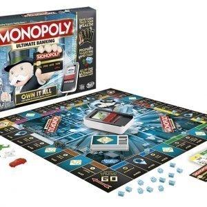 Hasbrogames Monopoly Ultimate Banking 2018
