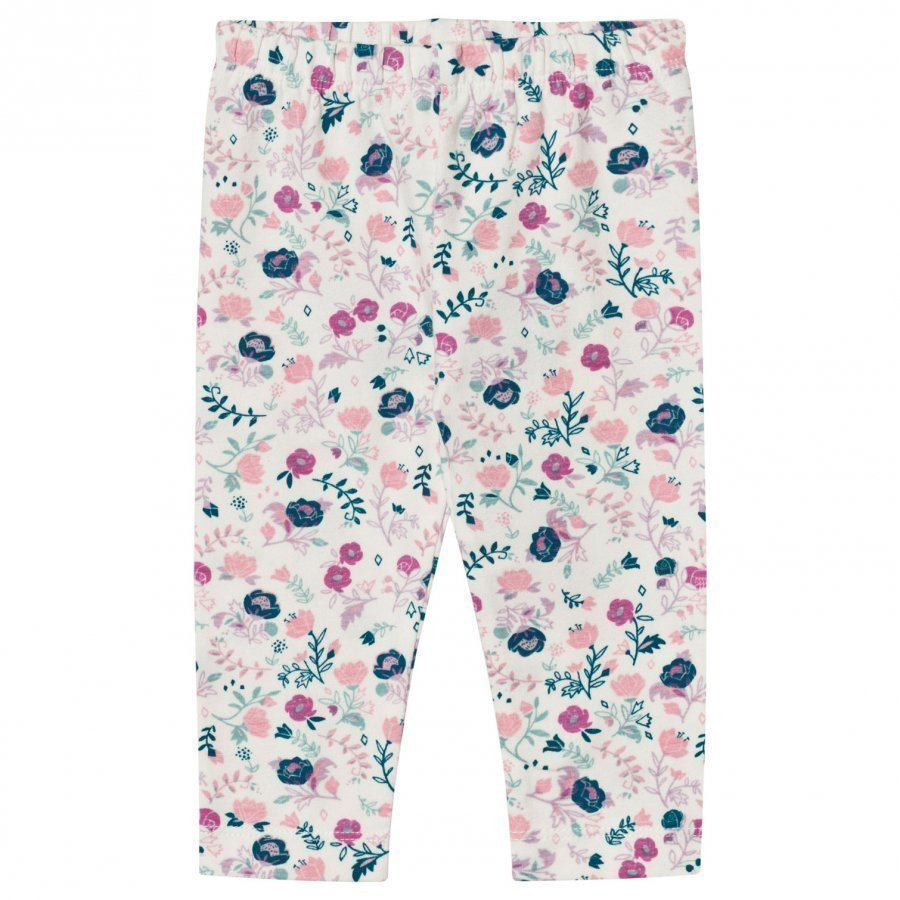Hatley Cream Floral Leggings Legginsit