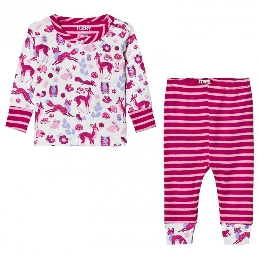 Hatley Cream Forest Animal Pyjamas Yöpuku