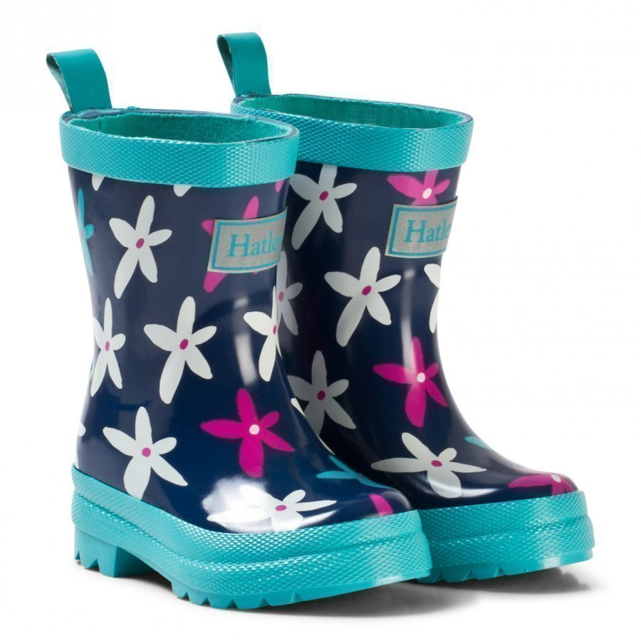 Hatley Graphic Flowers Classic Rain Boots Kumisaappaat