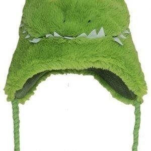 Hatley Lakki Fuzzy fleece hat Krokotiili