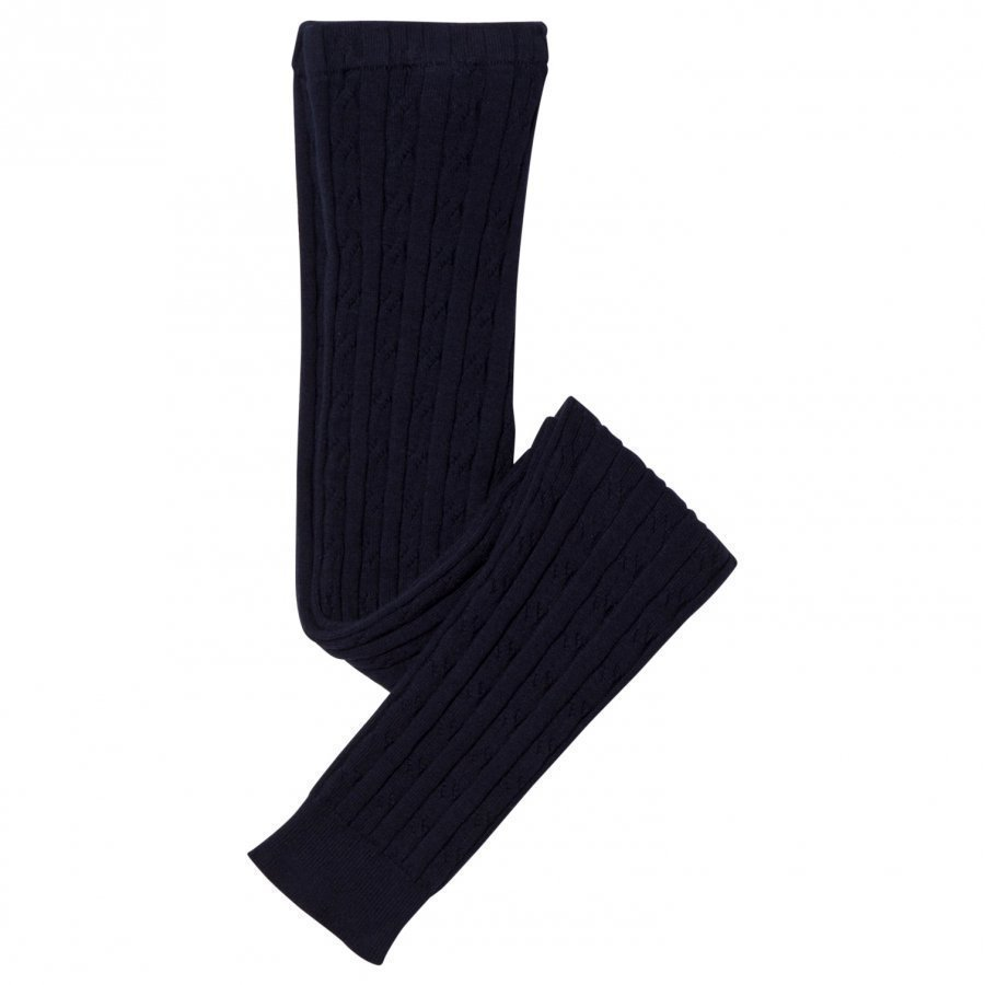 Hatley Navy Cable Knit Leggings Legginsit