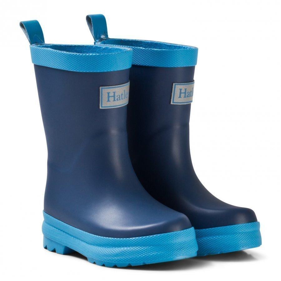 Hatley Navy Classic Rain Boots Kumisaappaat