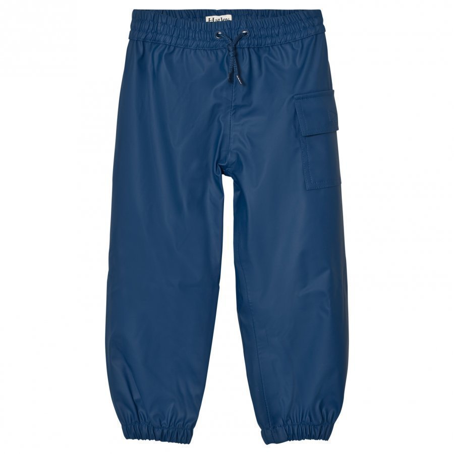 Hatley Navy Waterproof Trousers Housut