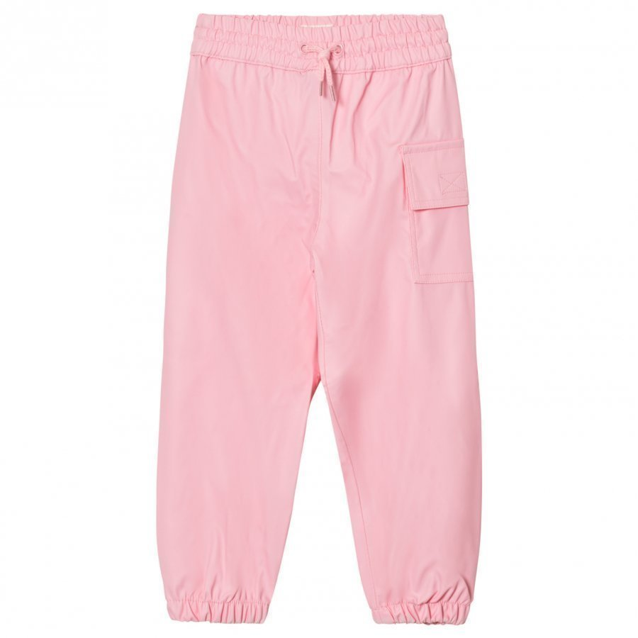 Hatley Pink Waterproof Trousers Housut